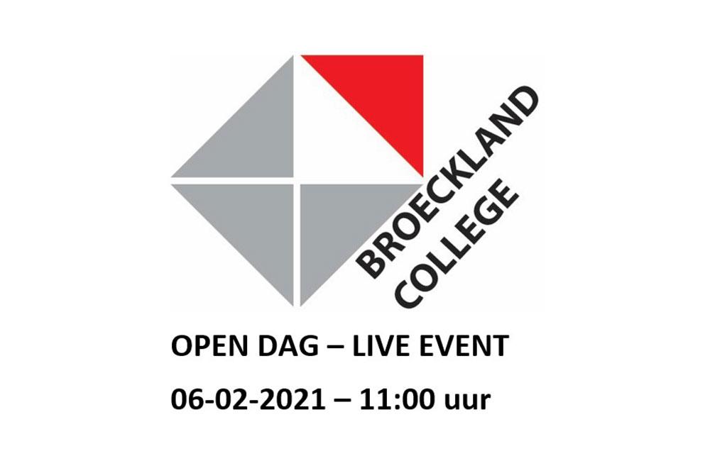 Broeckland college open dag