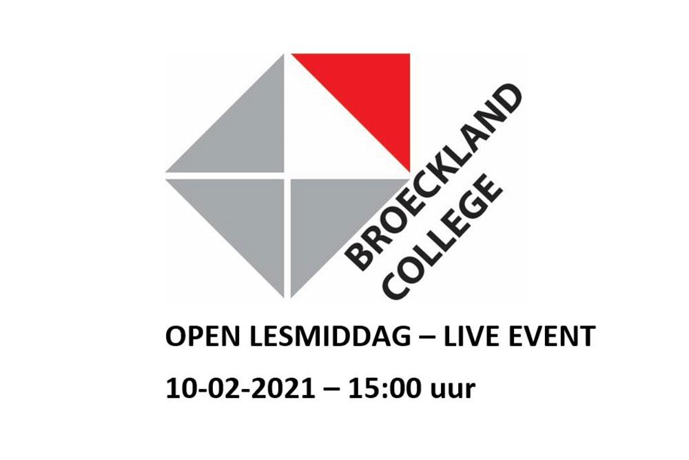 Broeckland college open lesmiddag